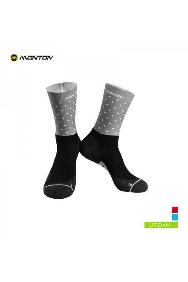 grey cycling socks