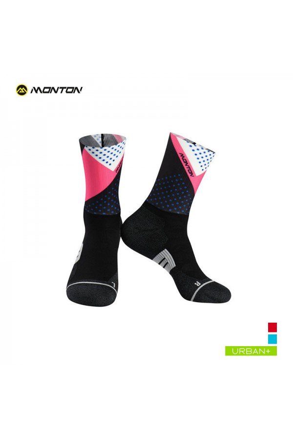 pink bike socks