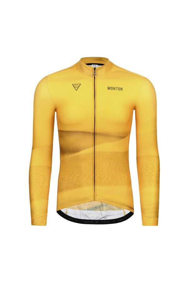 thermal long sleeve cycling jersey