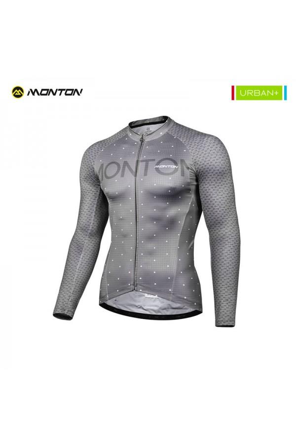 Long sleeve cycling jersey summer weight
