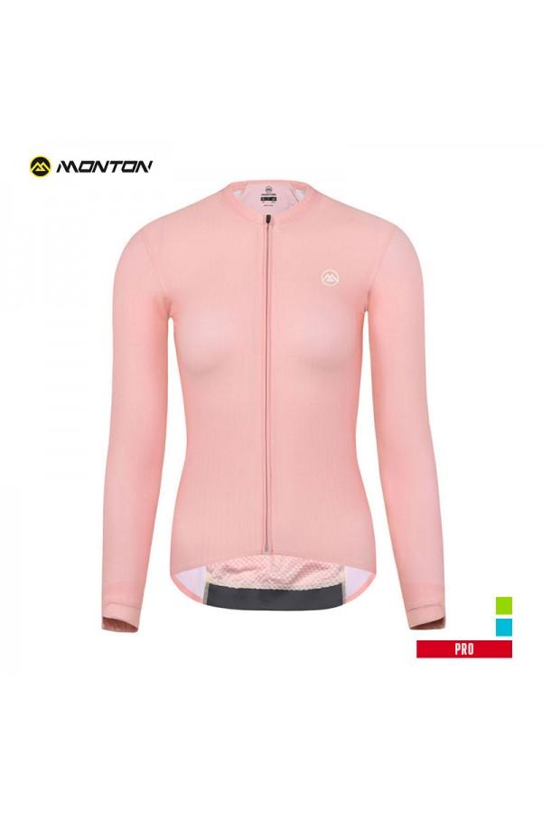 ladies long sleeve cycling top
