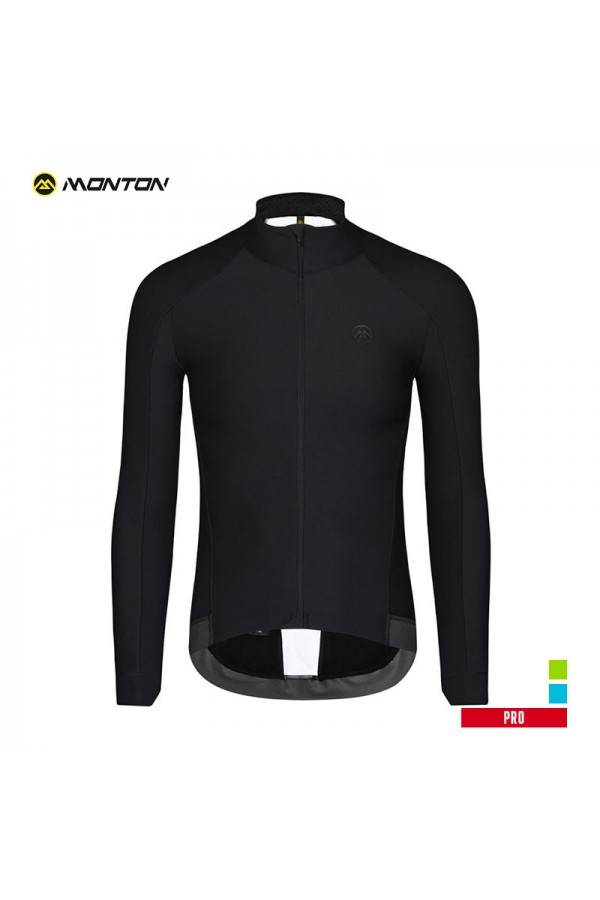 long sleeve fleece cycling jersey