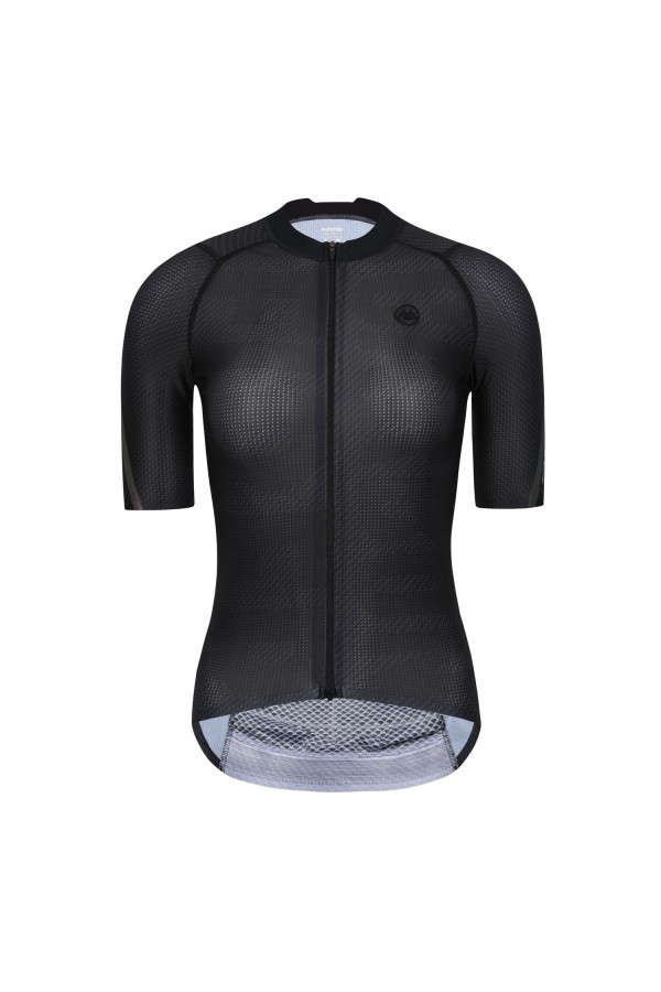 womens black cycling jersey