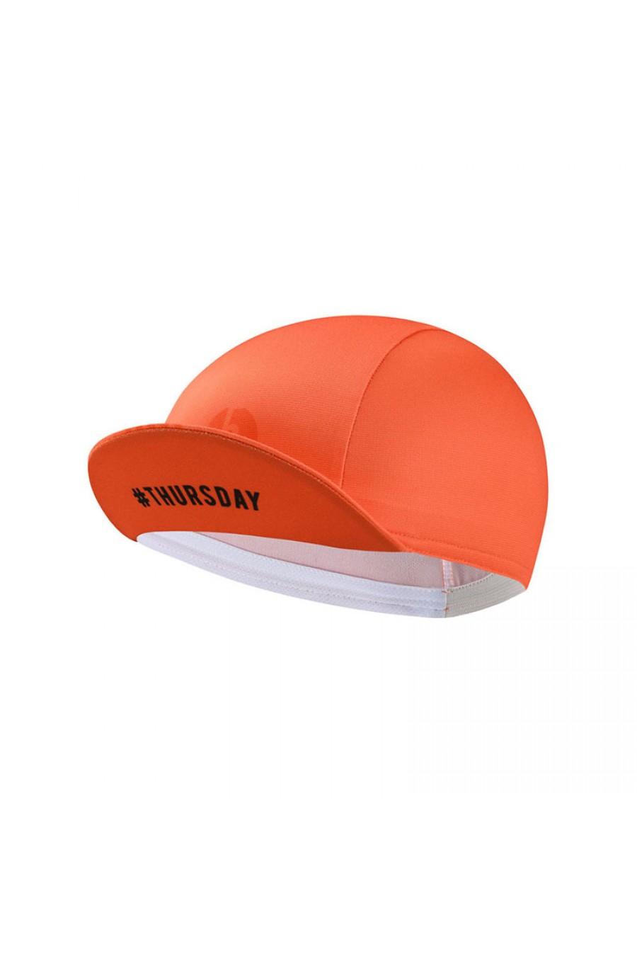 Unique Orange Cycling Caps Under Helmet