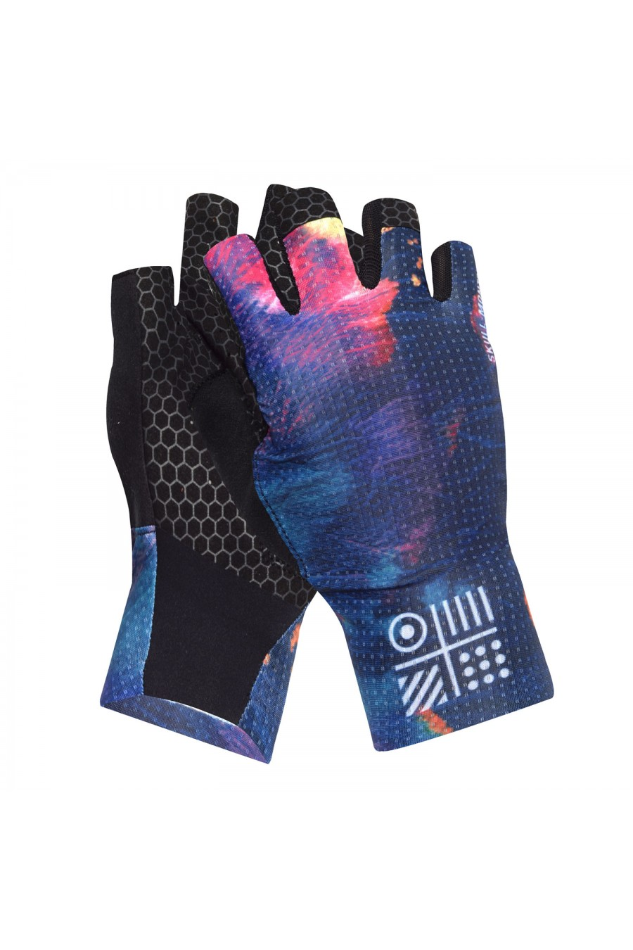 personalised cycling gloves