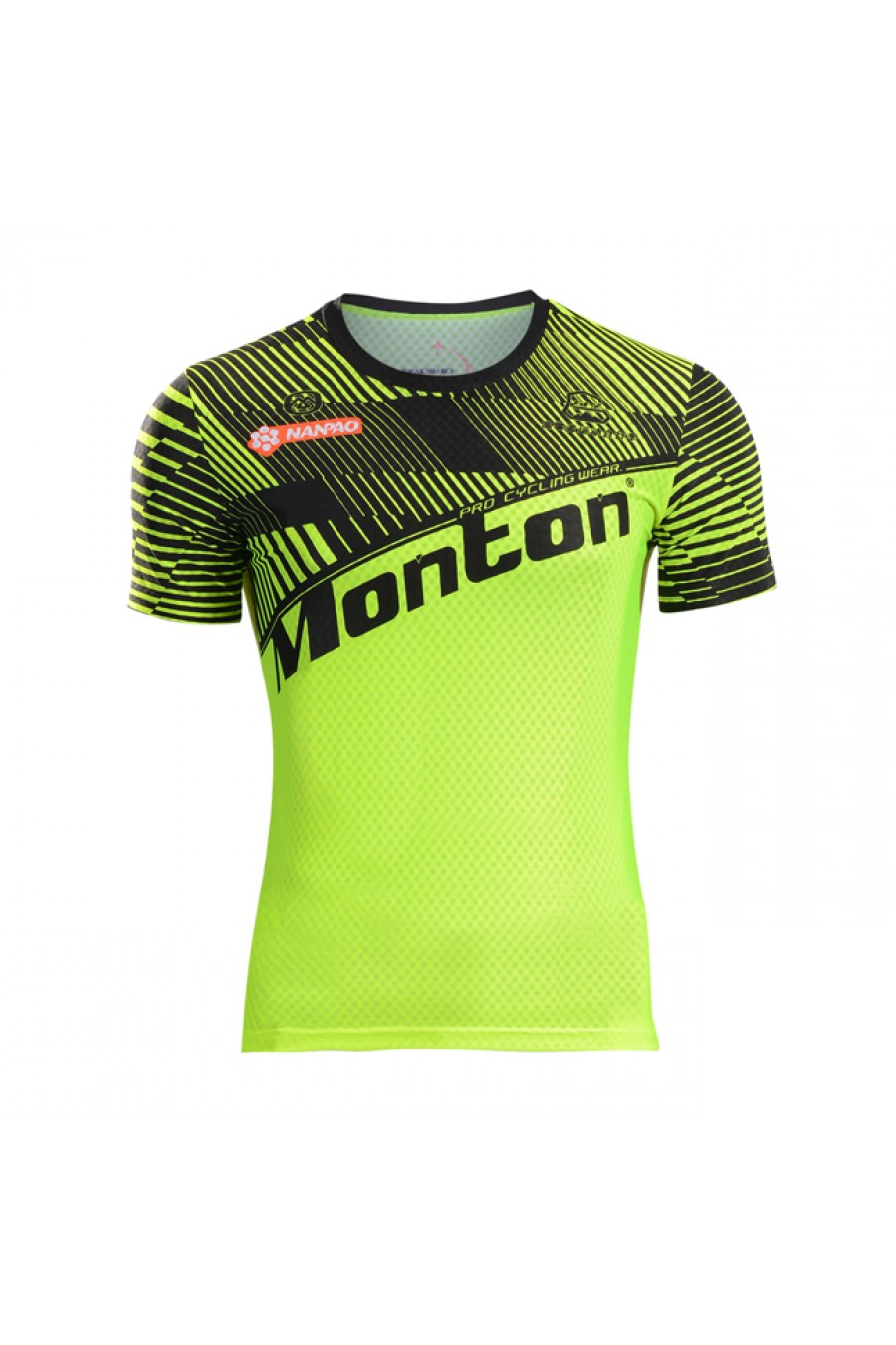 Hi vis mens cycling t shirt for sale super wicking for Custom hi vis shirts