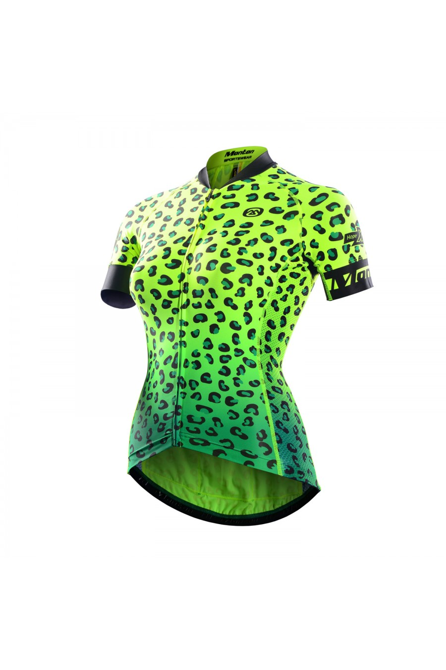 Monton 2016 Women S Short Sleeve Race Fit Fluorescent Cycling