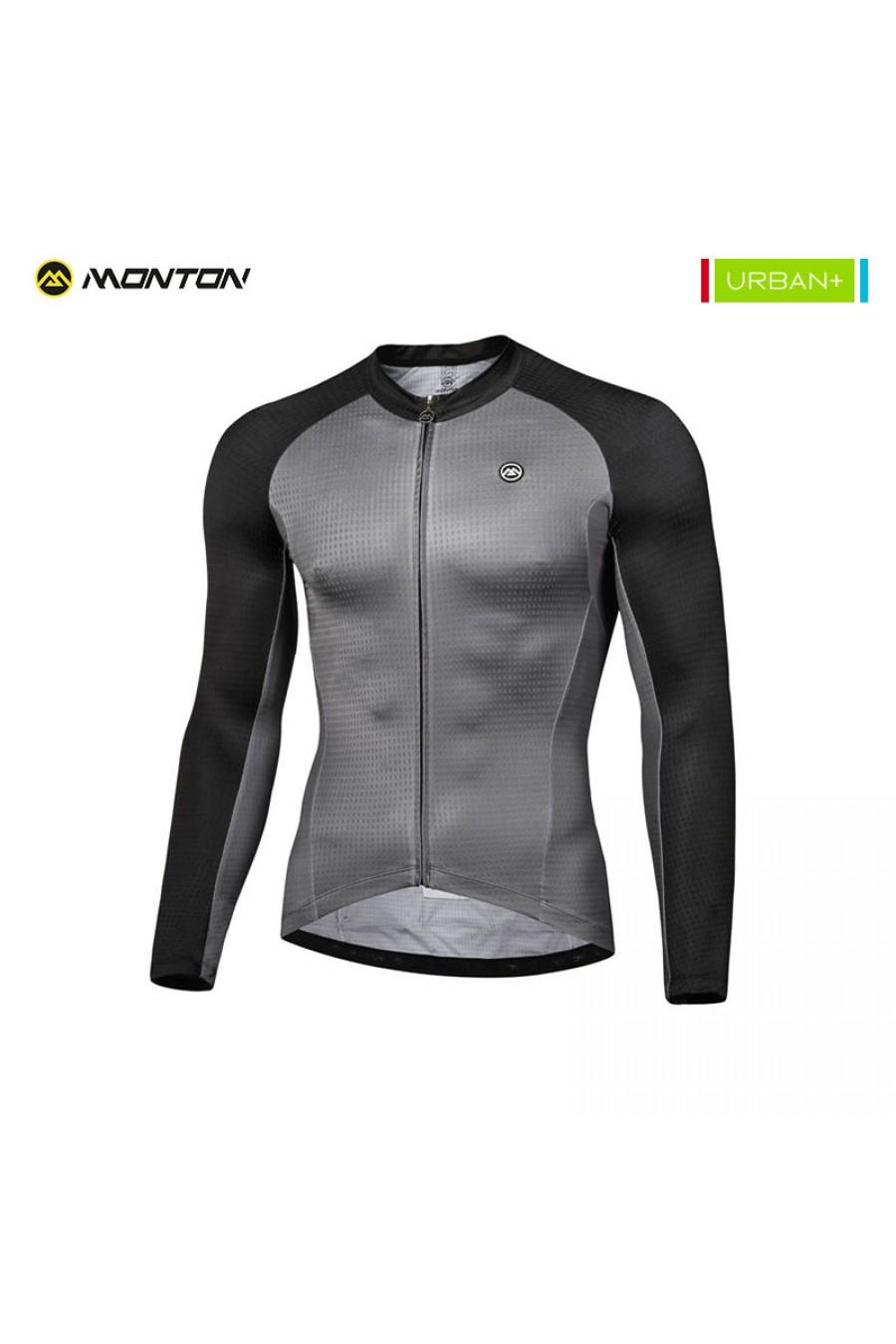 Buy Mens Long Sleeve Road Bike Jersey Summer Light Weight e1c75cfd4