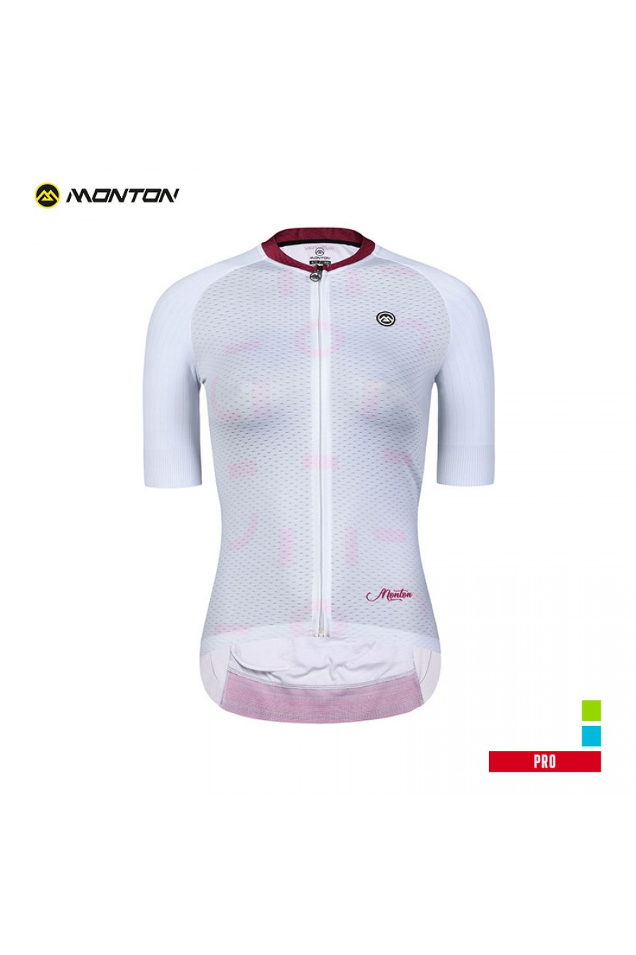 3b9e37708 Buy Summer Aero Fit Full Zip Cycling Jersey White with Zip Pocket