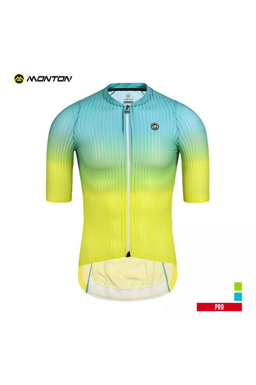 New Cycling Bicycle Bick Clothing Jersey Shirts Short Sleeve Clothes Light Green