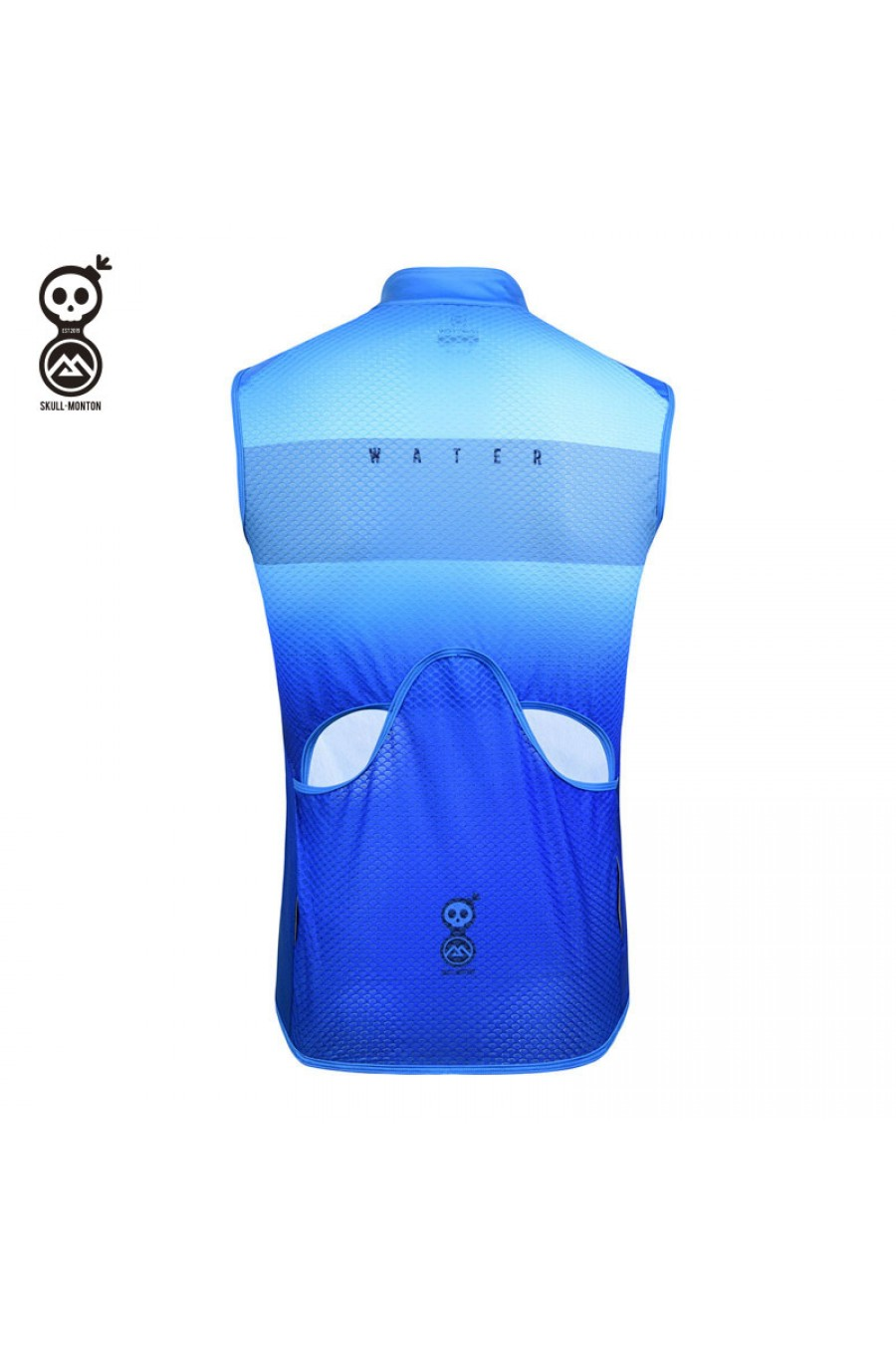 mens cycling gilet windproof online for sale blue