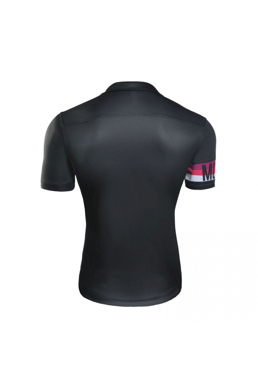 mens cool quick dry polyester black bike sports polo