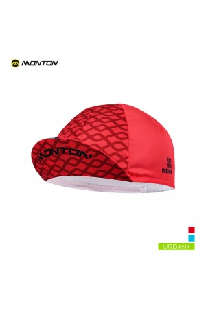red cycling caps