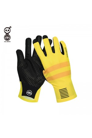 yellow bike gloves