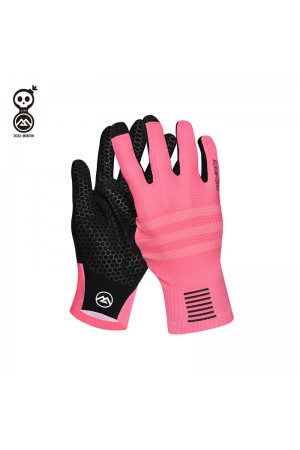 cycling gloves pink