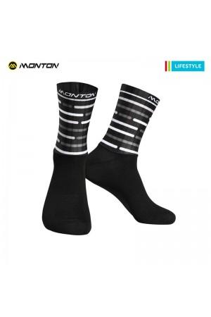 2018 Short Cycling Socks LifeStyle Sustar Black Gray