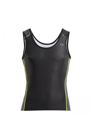 2015 Men's Triathlon Singlet Suncool Black