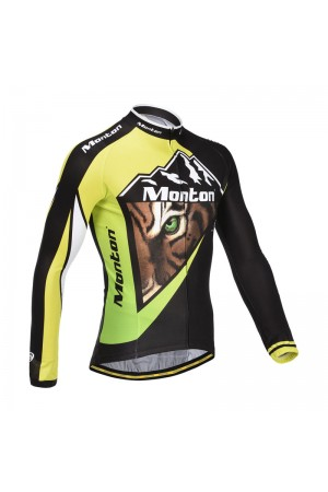 long sleeve cycling jersey fleece