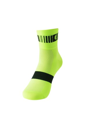 neon yellow cycling socks