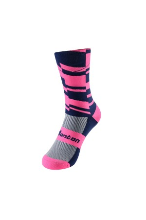 2017 Bike Riding socks Fearless Pink Sock