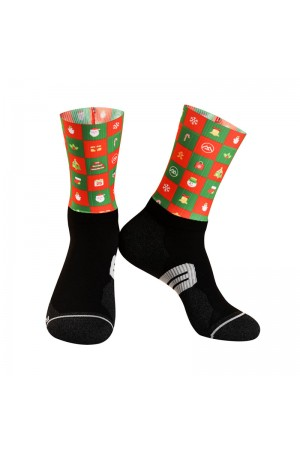 2019 Aero Christmas Cycling Socks Gift