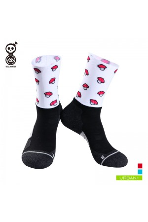 cycling socks white