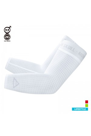 2019 Cycling Sleeves Cobrand Wind White