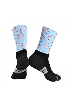 christmas cycling socks