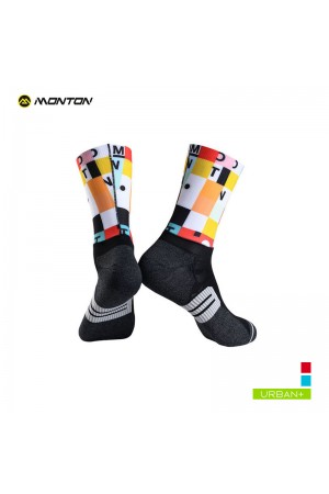 colourful cycling socks
