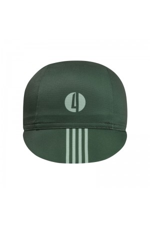 green cycling caps
