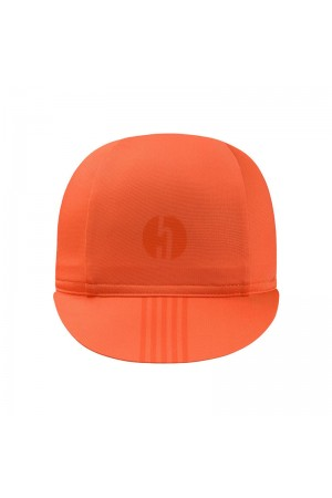 orange cycling caps