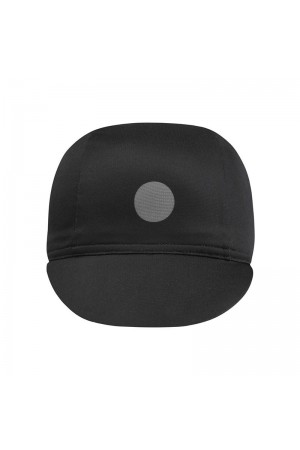 black cycling caps