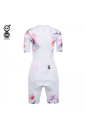 ladies cycling skinsuit