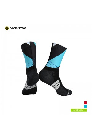 light blue cycling socks