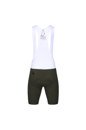 green cycling bib shorts