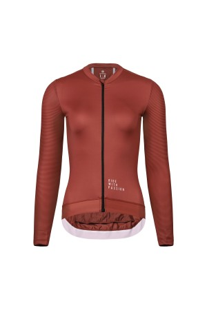 long sleeved cycling jersey