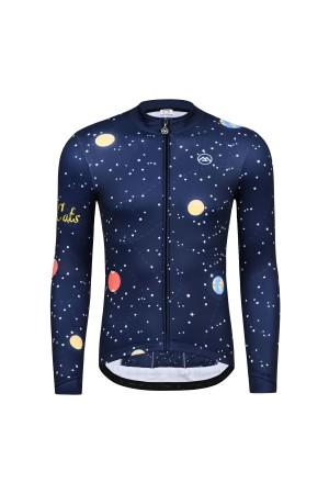 fleece cycling jersey
