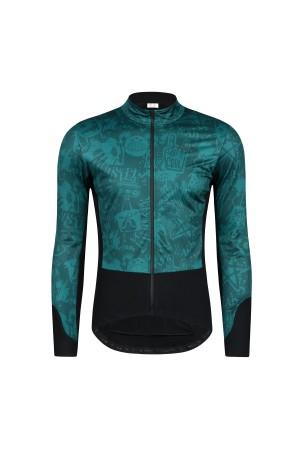 mens thermal cycling jacket