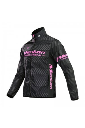 2016 Mens Cycling Windbreaker Sharp Light Pink