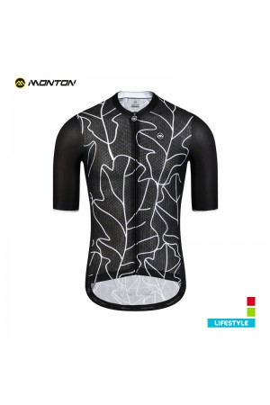black bicycle jersey