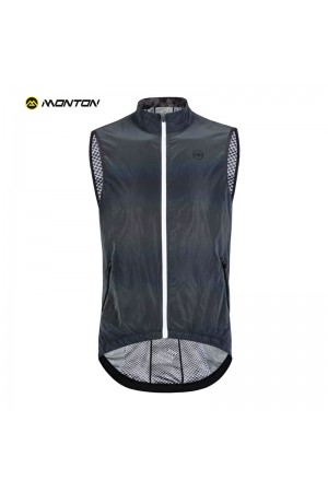 cycling gilet with pockets