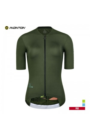green bike jersey