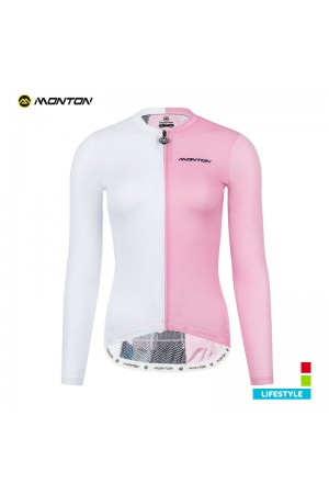 women s long sleeve cycling top