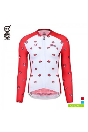 lightweight long sleeve cycling jersey