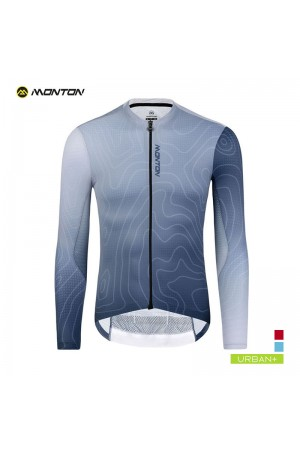 long sleeve cycle jersey mens