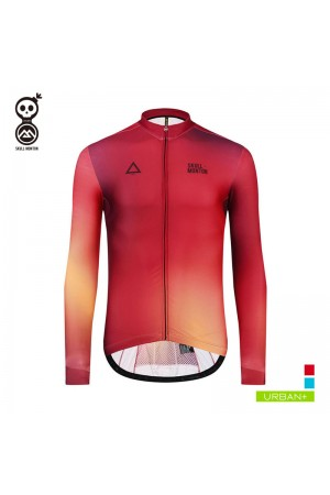 fleece cycling jersey