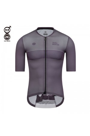 purple cycling jersey men's