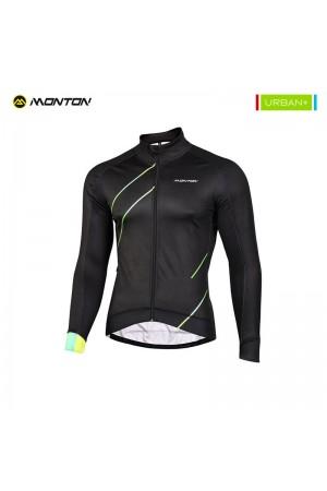 Thermal bike jacket
