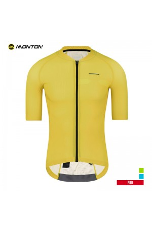 yellow cycling jersey