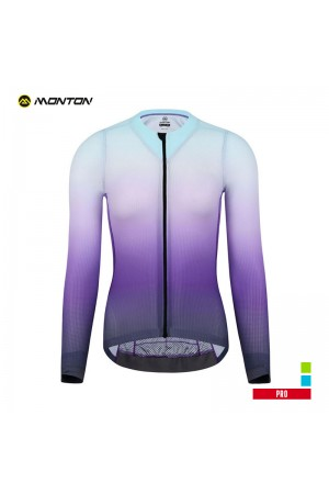 ladies long sleeve cycle jersey